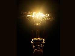 John 8:12 – I am the Light of the World