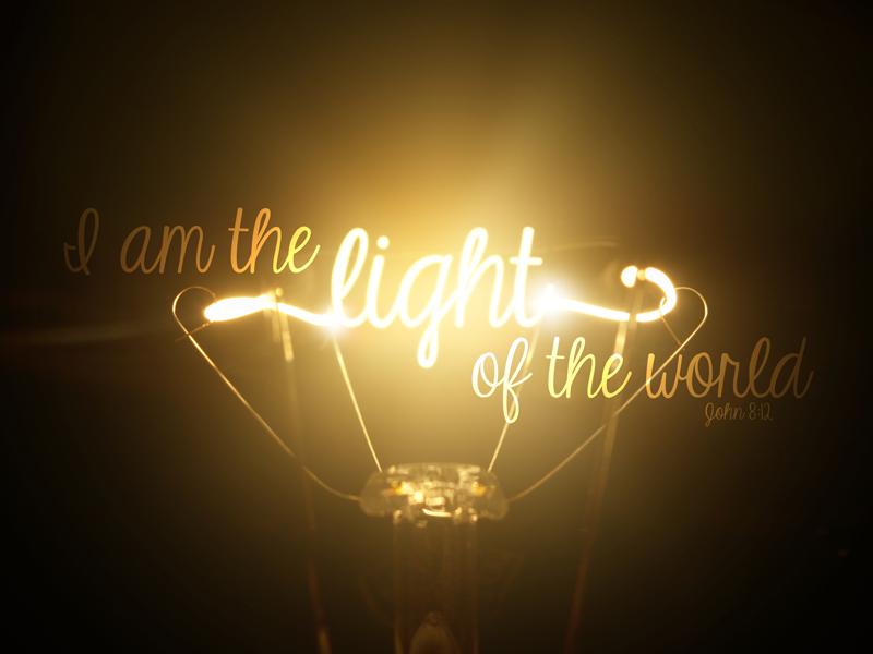 John 8:12 – I am the Light of the World version 2